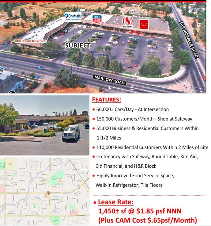 Retail Space for Lease Santa Rosa